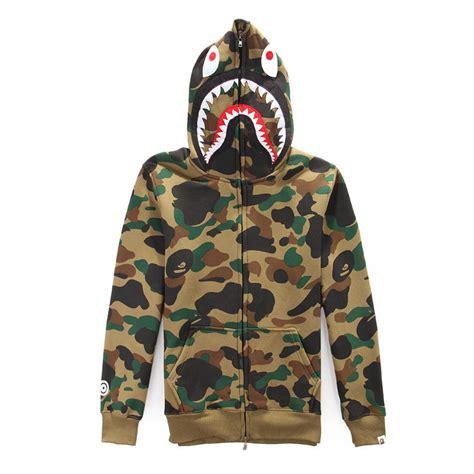 Hoodie Sweater Bape Shark Camo bape hoodies autumn winter shark hedging sweatshirts