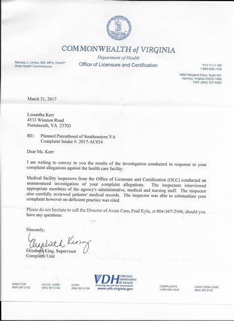 Letter Response Unit Optum Planned Parenthood Abortion Facilities Hospitalize Two More Patients