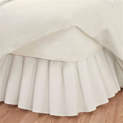 bed dust ruffle deluxe dust ruffle bedskirt dual quality time