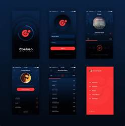Mobile Apps Templates by 10 Mobile App Ui Psd Free Images Mobile App