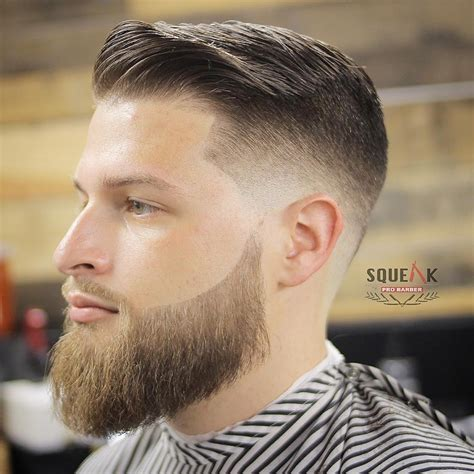 Mens Fades Hairstyles by Comb Fade Haircuts