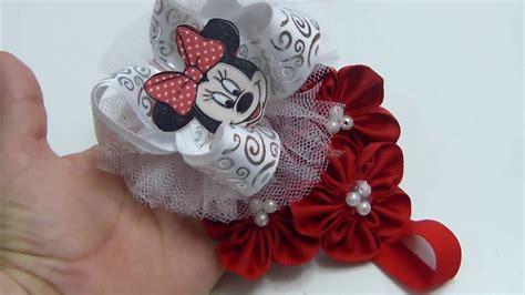 como hacer mo241os de diadema para bebe como hacer mo 241 os para ni 241 a ribbon flowers