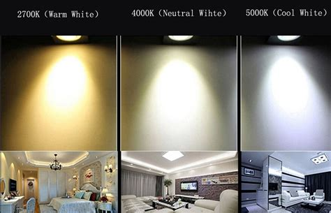Warm Led Light Bulbs Led Lights Warm White Neutral White Cool White White Downlight Retrofit Downlight Kit