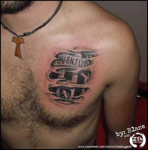 under skin tattoo juventus skin by blaze www