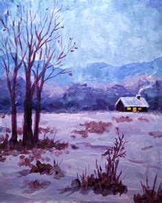 paint nite bay 1000 images about snowy winterland on