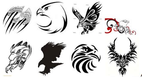 eagle tribal tattoo designs tribal eagle designs