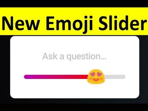 instagram new feature 2018 how to add/get emoji slider on