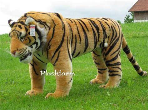 tiger rubber st pl 220 schtier pl 220 sch tiger stehend lebensecht 80 cm neu