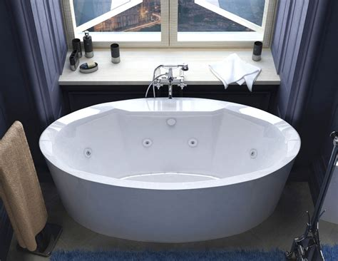 freestanding bathtubs with air jets poussin 34 x 68 oval freestanding air whirlpool water