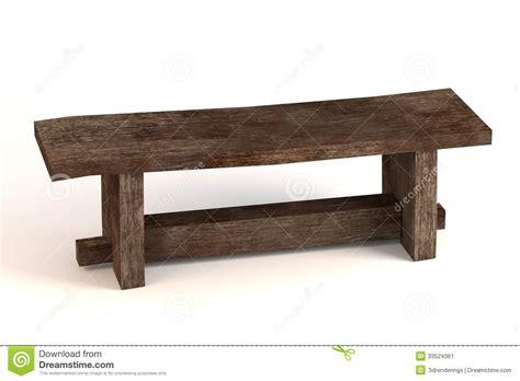 medieval bench stock illustration illustration  gothic