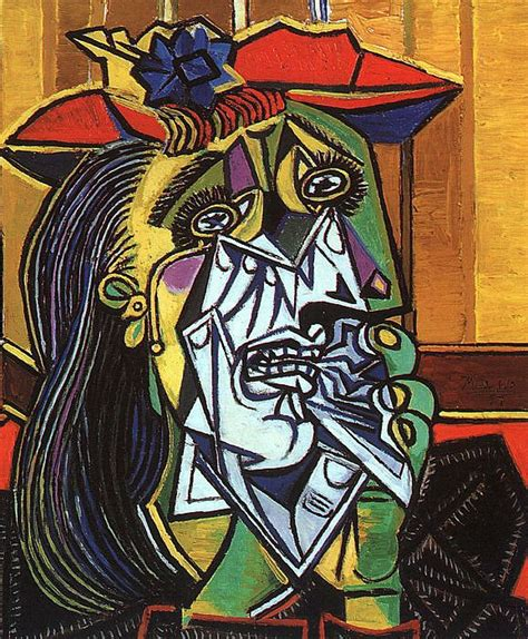 picasso paintings the weeping cgfa pablo picasso weeping