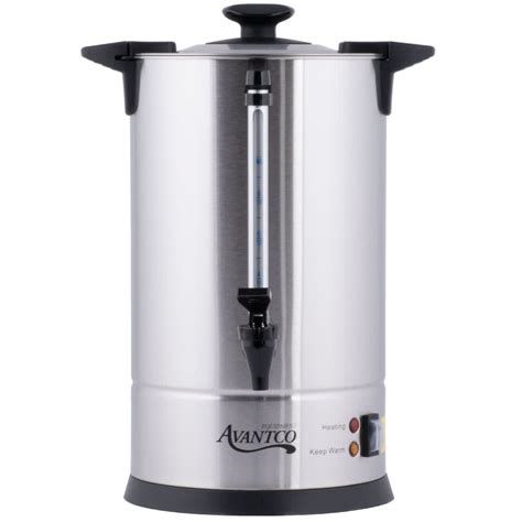 Coffee Urn avantco cu55etl 55 cup stainless steel coffee urn 950w