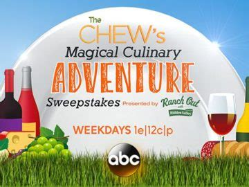 The Chew Sweepstakes 2017 - the chew s magical culinary adventure sweepstakes