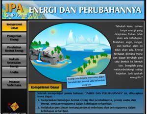 edukreasi energi dan perubahannya
