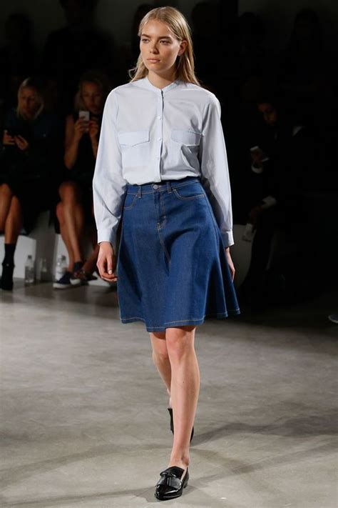denim skirt fashion trends summer 2016 cinefog