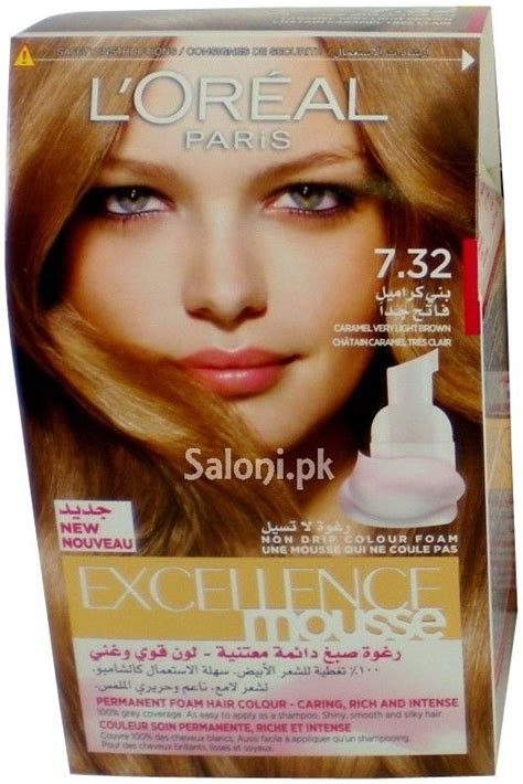 Hair Detox Colour Excellence by L Oreal Excellence Mousse Caramel Light Brown 7