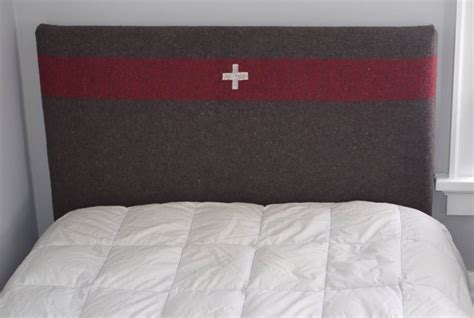 Upholstered Headboard For Sale headboard for bed upholstered in swiss army blanket for sale at 1stdibs
