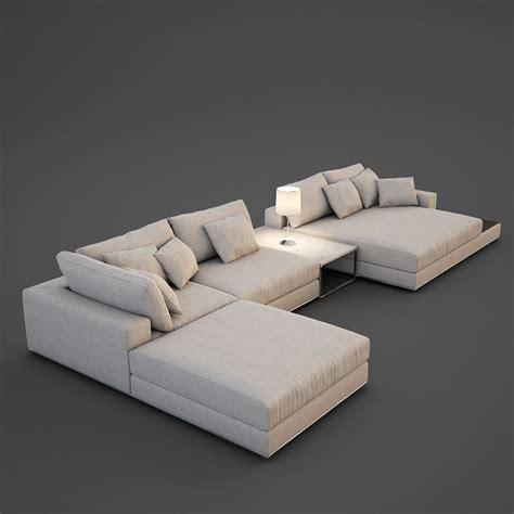 realistic sofa  max