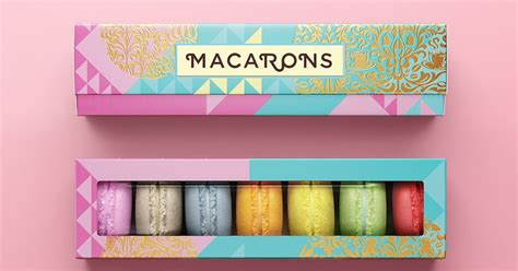 Design Lu Pju | macarons on packaging of the world creative package