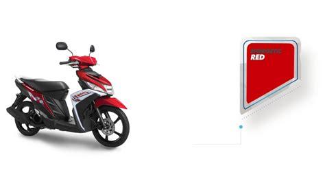 M 3 Atasan Dan Set Merah Dan Putih Minnie T2909 1 modifikasi mio m3 merah putih modifikasi motor kawasaki honda yamaha