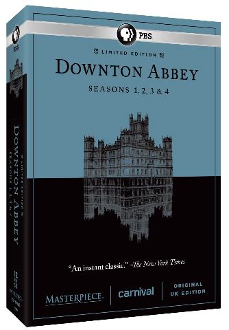 Masterpiece Theater Downton Abbey Sweepstakes - downton abbey seasons 1 4 now on prime instant video get ready for season 5
