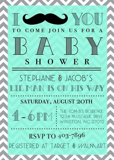 mustache boy baby shower best 10 baby shower invitation wording ideas on