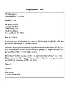 Business Letter Sle Salutation Sle Business Letter Salutation 5 Exles In Word Pdf