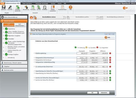 Nachzahlung Musterschreiben Wiso Steuer Sparbuch 2012 F 252 R Steuerjahr 2011 Frustfreie Verpackung De Software