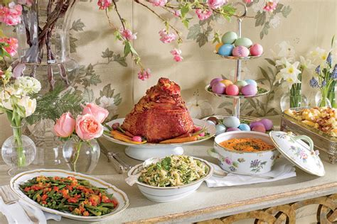 Kitchen Dish Rack Ideas by Traditional Easter Dinner Recipes Southern Living