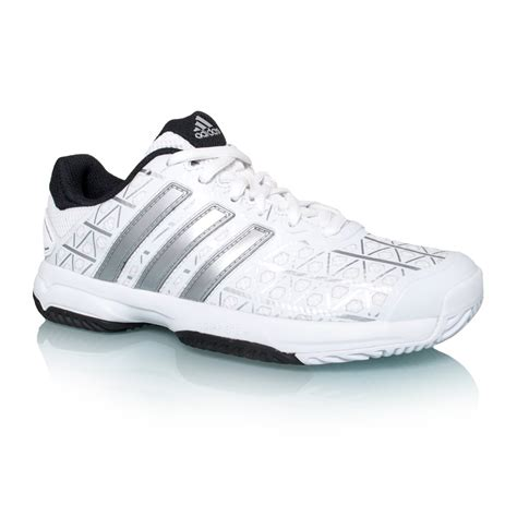 adidas barricade club xj tennis shoes white matte