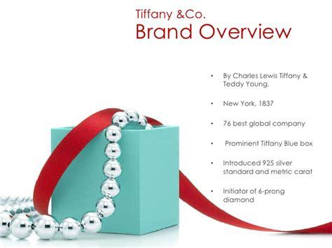 Tiffany & Co. Brand Audit