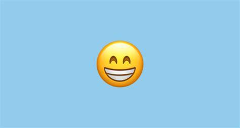 grinning face  smiling eyes emoji