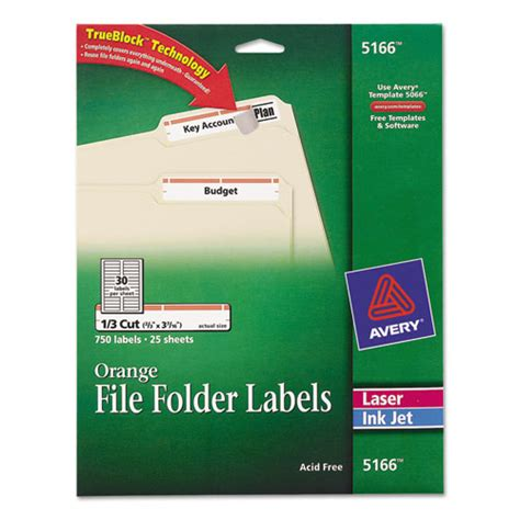 ave5166 avery permanent file folder labels zuma