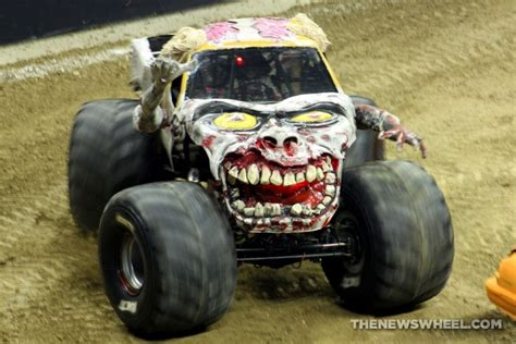 zombie monster jam truck our q a interview with monster truck driver bari musawwir