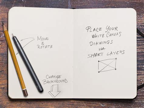 sketchbook and pencils sketchbook and pencil mockup mockupworld