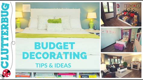 home decorating advice home decorating tips ideas on a budget youtube