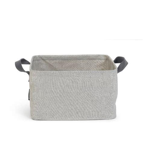 Foldable Laundry Basket 35 Litre Grey Brabantia Foldable Laundry