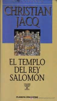 libro el templo del jazmin el templo del rey salom 243 n christian jacq