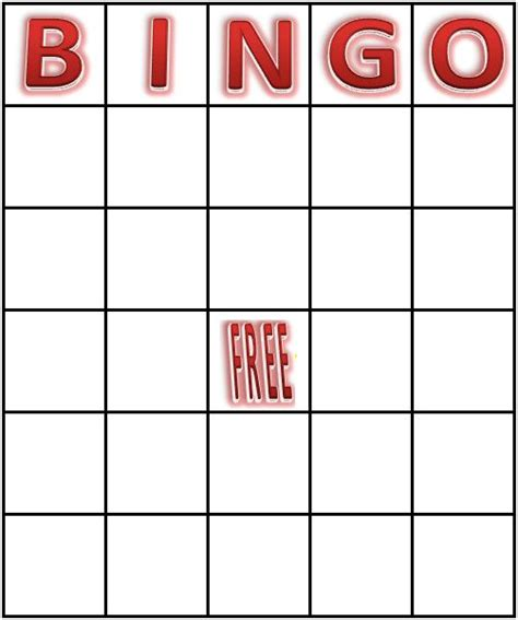 blank printable bingo card template 916 best images about printables on free