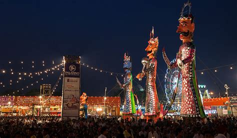 top 10 dussehra and ramlila celebrations in india