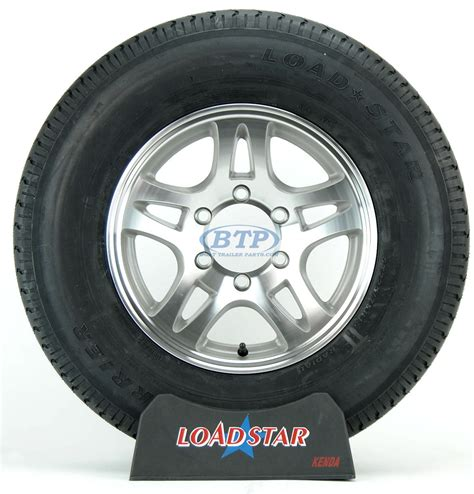 boat trailer tires and wheels boat trailer tire st225 75r15 radial on aluminum wheel 6