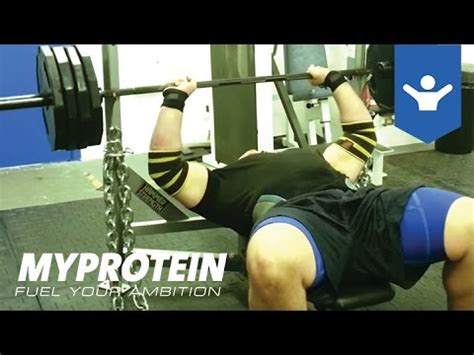 How To Bench Press With Terry Hollands By Myprotein Youtube