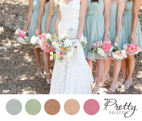 blue color palette wedding pretty wedding color palette 19