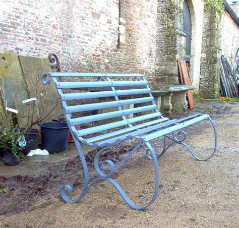 antique garden bench antique slatted garden bench ironart of bath