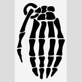 Skeleton Hand Grenade Tattoo | 300 x 475 jpeg 45kB