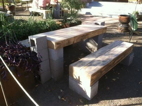 Cinder Block Desk by Knowing Diy Ideas For Landscaping Yard Garden