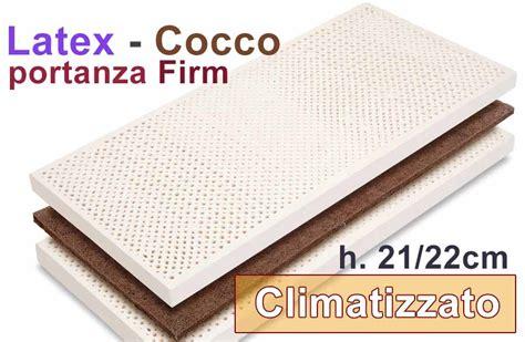 materasso schiuma o lattice moeco cocco climatizzato schiuma lattice e cocco