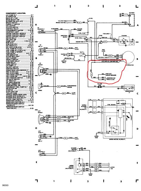 1998 bmw wiring diagrams ignition wiring diagram with