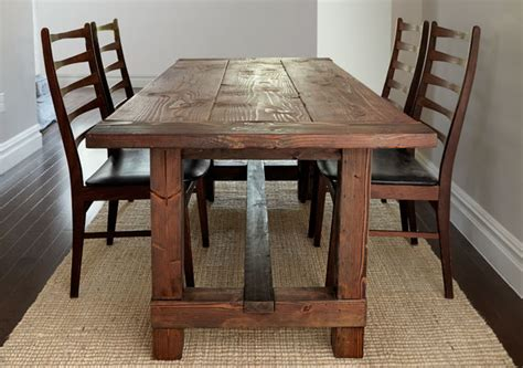 build  rustic farmhouse table