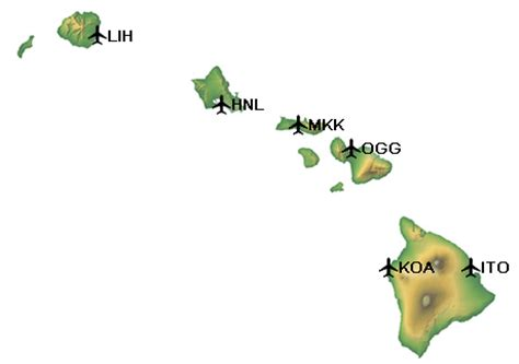 cheap hawaii interisland flights: miles and points or paid
